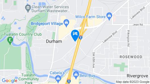 Grand Hotel at Bridgeport Map
