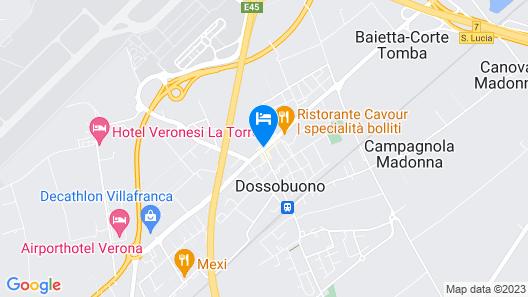 Hotel Gattopardo Map