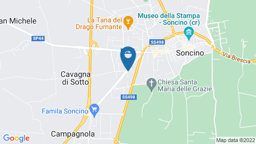 Bes Hotel Cremona Soncino Map
