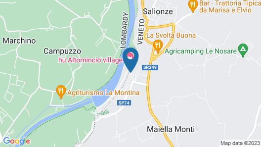 Altomincio Family Park - Campground Map