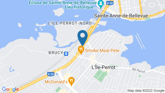 Motel Montreal Map