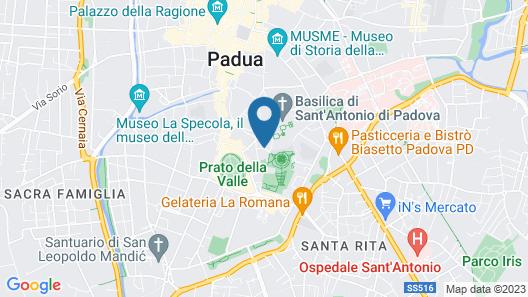 Hotel Canton dell Orto Map