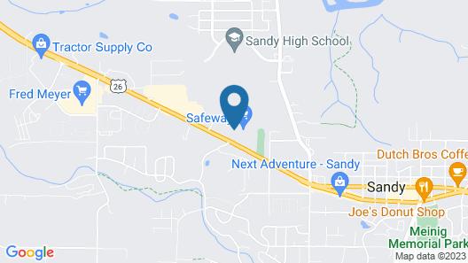 Best Western Sandy Inn Map