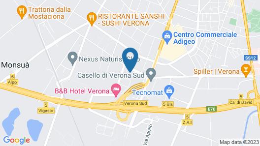 Leonardo Hotel Verona Map