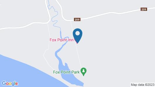 Fox Point Inn Map
