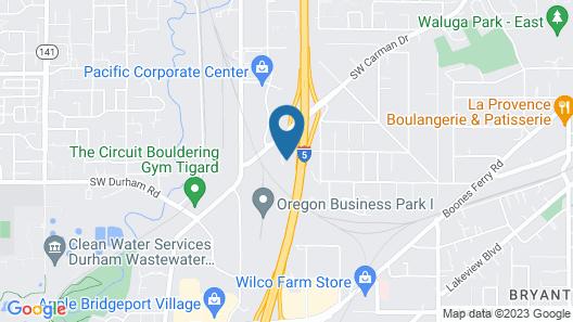 Holiday Inn Express Portland South-Lake Oswego, an IHG Hotel Map