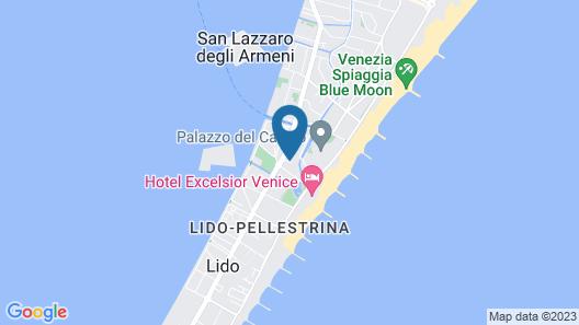 Hotel Villa Albertina Map