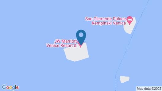 JW Marriott Venice Resort & Spa Map