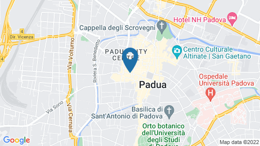 Padovaresidence Piazza delle Erbe Map