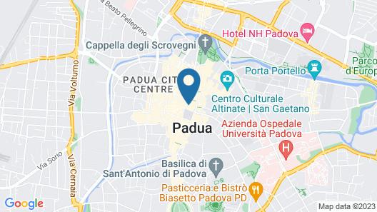 Erïk Langer Pedrocchi Suites Map