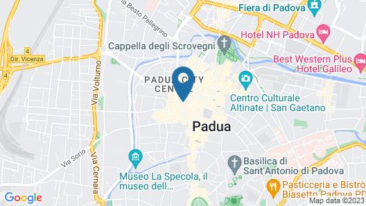 MYSWEETPLACE - Piazze di Padova Apartments Map