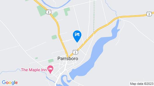 The Parrsboro Mansion Inn Map