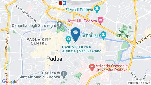 Padovaresidence Cappella degli Scrovegni Map