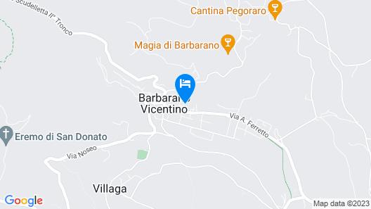 4 Bedroom Accommodation in Barbarano Vicentino VI Map