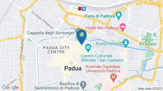 Palazzo Mantua Benavides Suites and Apartments Map