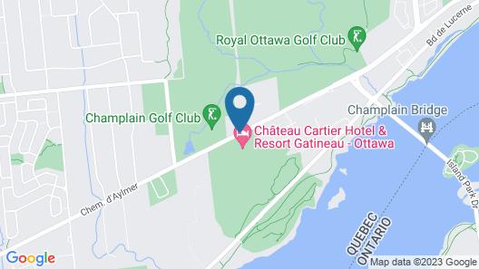 Doubletree by Hilton Gatineau-Ottawa Map