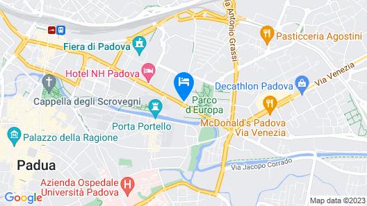 Best Western Plus Hotel Galileo Padova Map