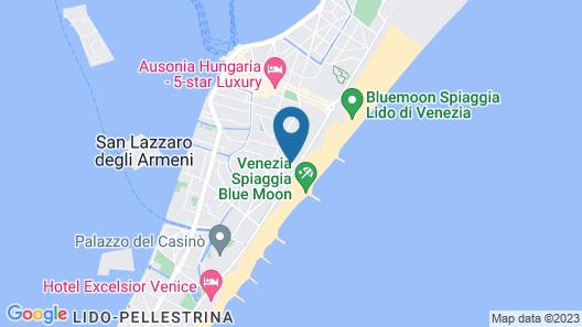 Marea Le Ville del Lido Resort Map