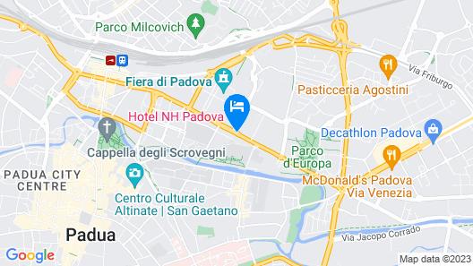 NH Padova Map