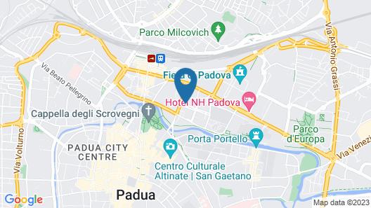 BSuites Scrovegni Map