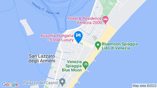 Hotel Villa Pannonia Map