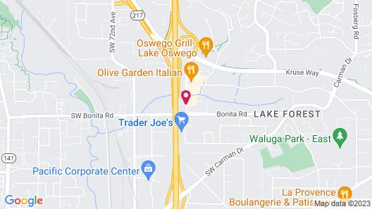 Residence Inn by Marriott Lake Oswego Map