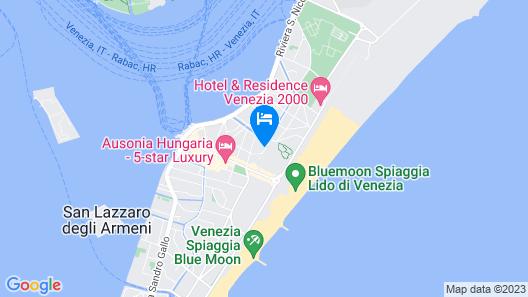 Hotel La Pergola di Venezia Map