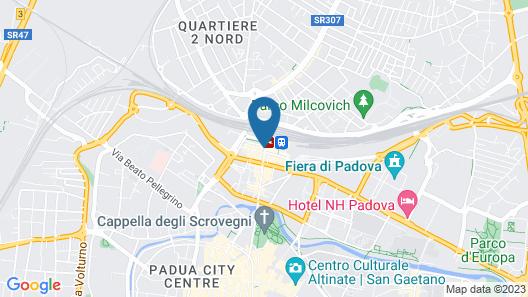 Hotel Grand'Italia Map