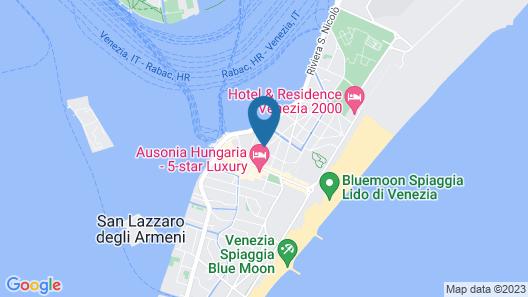 Hotel Villa Edera Map