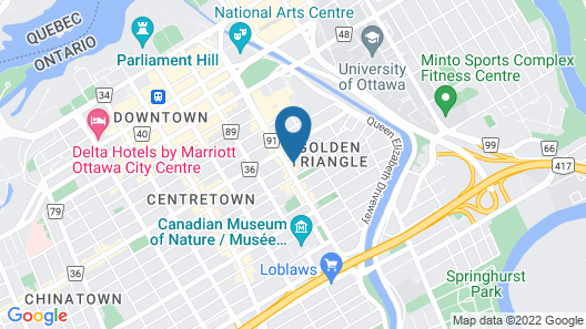 The Business Inn Map