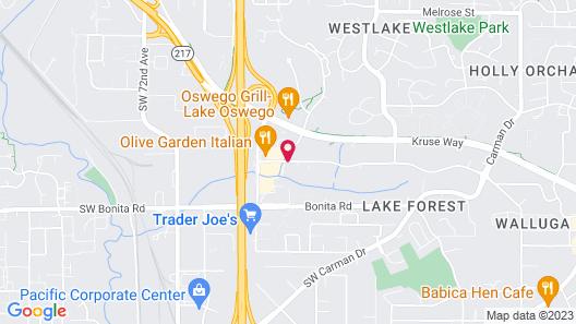 Fairfield Inn & Suites by Marriott Lake Oswego Map