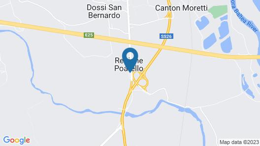 Hotel Gardenia Map