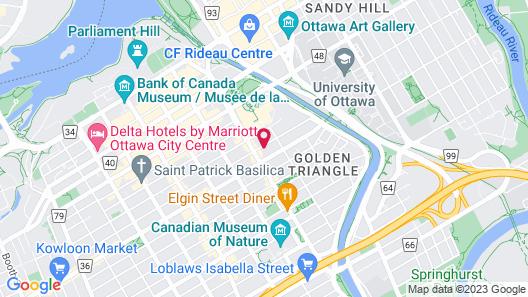 Cartier Place Suite Hotel Map