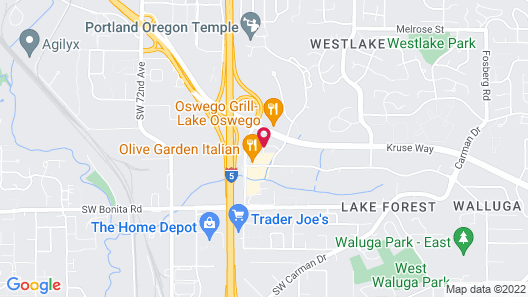 Crowne Plaza Portland-Lake Oswego Map
