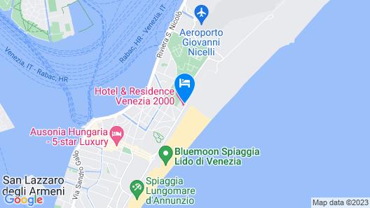 Hotel Residence Venezia 2000 Map