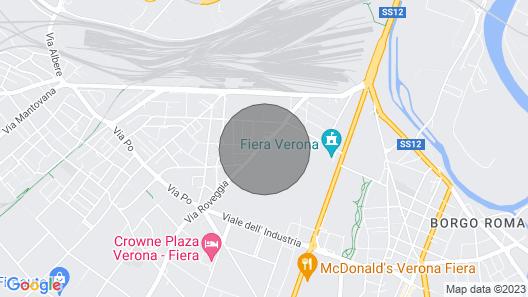 Attico Ai Cedri Welcomes you to the Romantic Verona Map