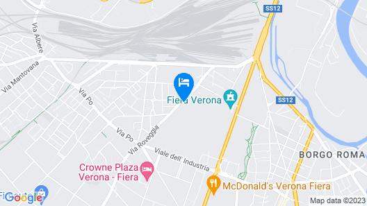 Attico Ai Cedri Map