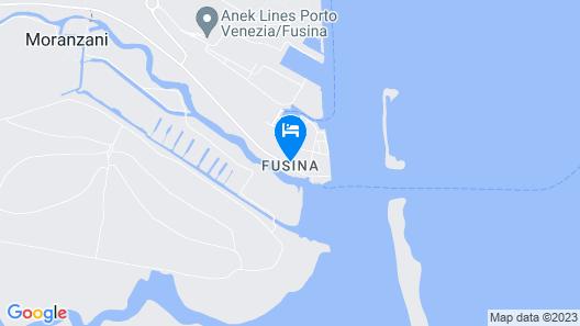 Camping Fusina Map