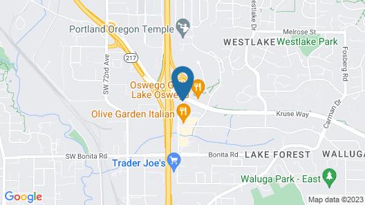 Phoenix Inn Suites - Lake Oswego Map