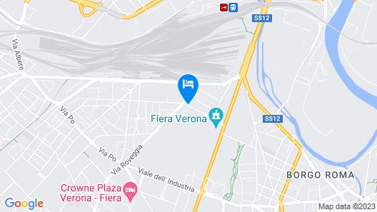 CQ Rooms Verona Map