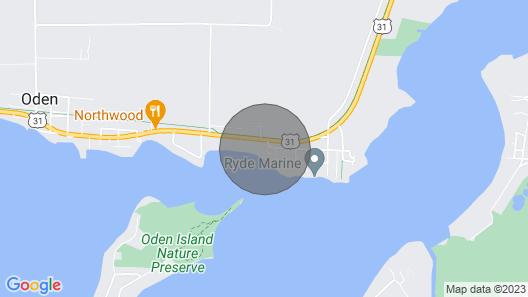 Birch Tree Bend - Your Getaway to Crooked Lake Near Petoskey Michigan Map