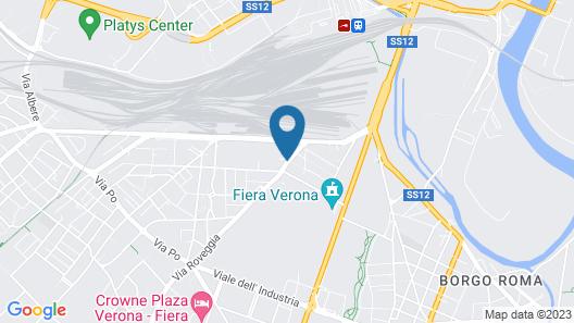 Hotel Fiera Map