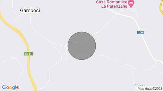 Ruhiges Haus in der Nähe von Umag Map