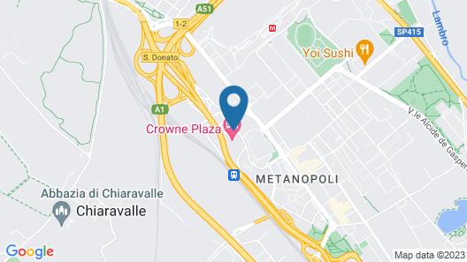 Crowne Plaza Milan - Linate Map