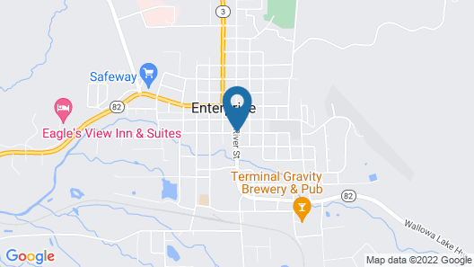 The Ponderosa Motel Map