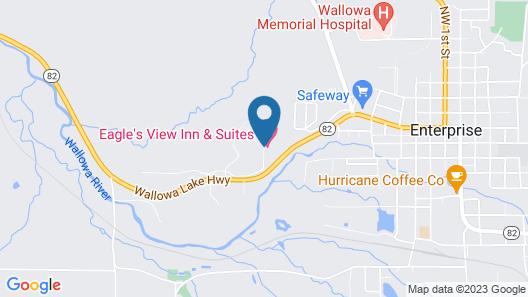 Eagle's View Inn & Suites Map