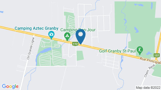 Motel Bonsoir Map
