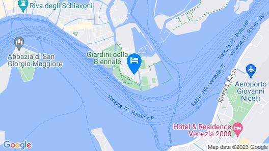 Hotel Indigo Venice - Sant'Elena, an IHG Hotel Map