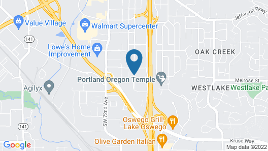 Extended Stay America Portland - Tigard Map