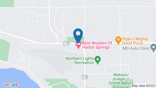 Best Western of Harbor Springs Map